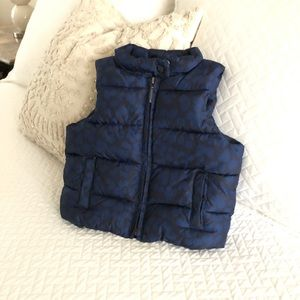 Toddler girls gap puffer vest